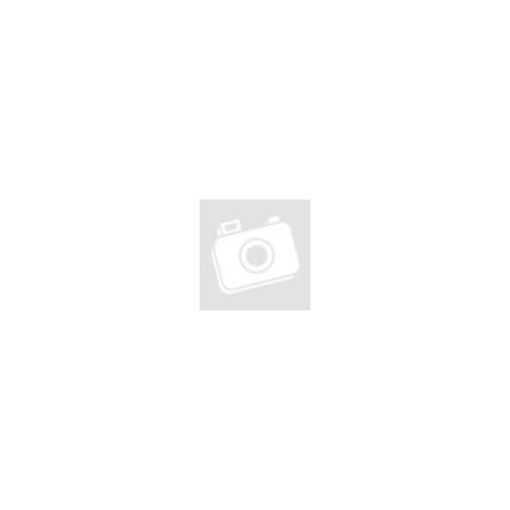 Piros, matt csomózott karkötő